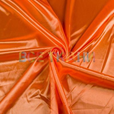 Атлас стрейч (оранжевый) VT-1428