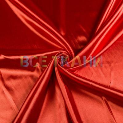 Атлас стрейч (тёмно-оранжевый) VT-1429