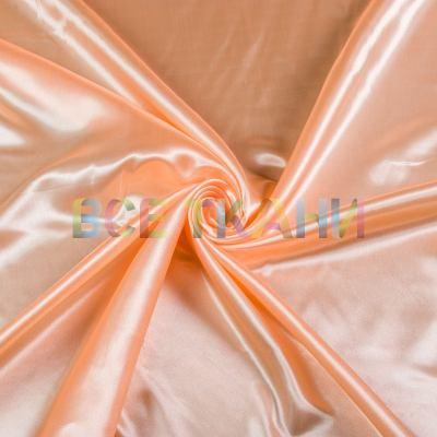 Атлас стрейч (морковный) VT-1442
