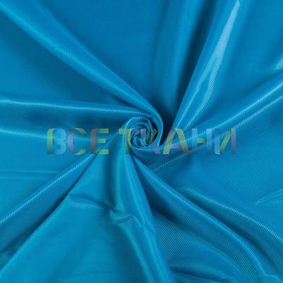 Подкладочная ткань диагональ (голубая) VT-1445