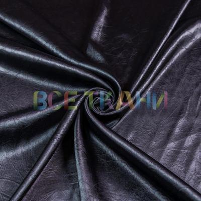 Атлас жатка стрейч плотная (чёрная) VT-1450