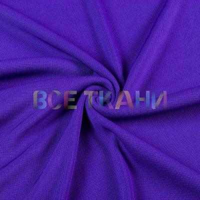 Рибана эластик (манжетная резинка) фиолетовая VT-916