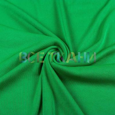 Рибана эластик (манжетная резинка) зеленая VT-917