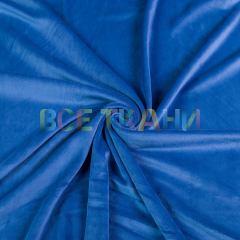 Велюр плюш начёс (голубой) VT-1528