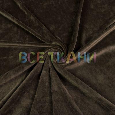 Велюр плюш (хаки) VT-1533