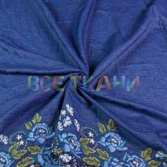 Джинс купон вышивка (т.синий) VT-1549-С1