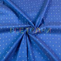 Рубашечная (сорочечная) ткань коттон (крестики) VT-1628-С1