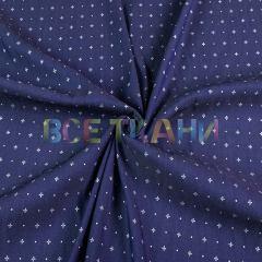 Рубашечная (сорочечная) ткань коттон (крестики) VT-1628-С2