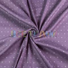 Рубашечная (сорочечная) ткань коттон (крестики) VT-1628-С3