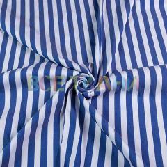 Рубашечная (сорочечная) ткань коттон (полоска средняя) VT-1629-С2