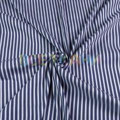 Рубашечная (сорочечная) ткань коттон (полоска узкая) VT-1630-С2