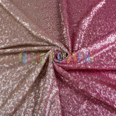 Пайетка омбре матовая (розовая и светлая пудра) VT-1633