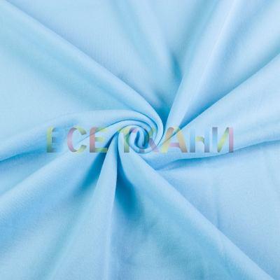 Трикотаж Трёхнитка начёс (голубая) VT-1691