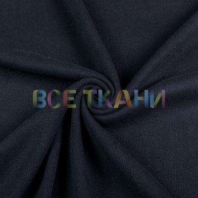Вязаное трикотажное полотно (чёрный) VT-1693-С2