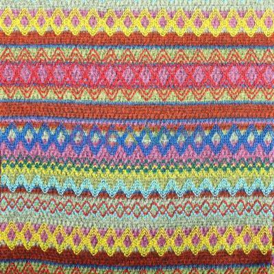 Вязанное трикотажное полотно на флисе Мексикано ZT-17084-C1
