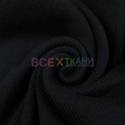 Довяз (манжетная резинка) чёрный VT-322